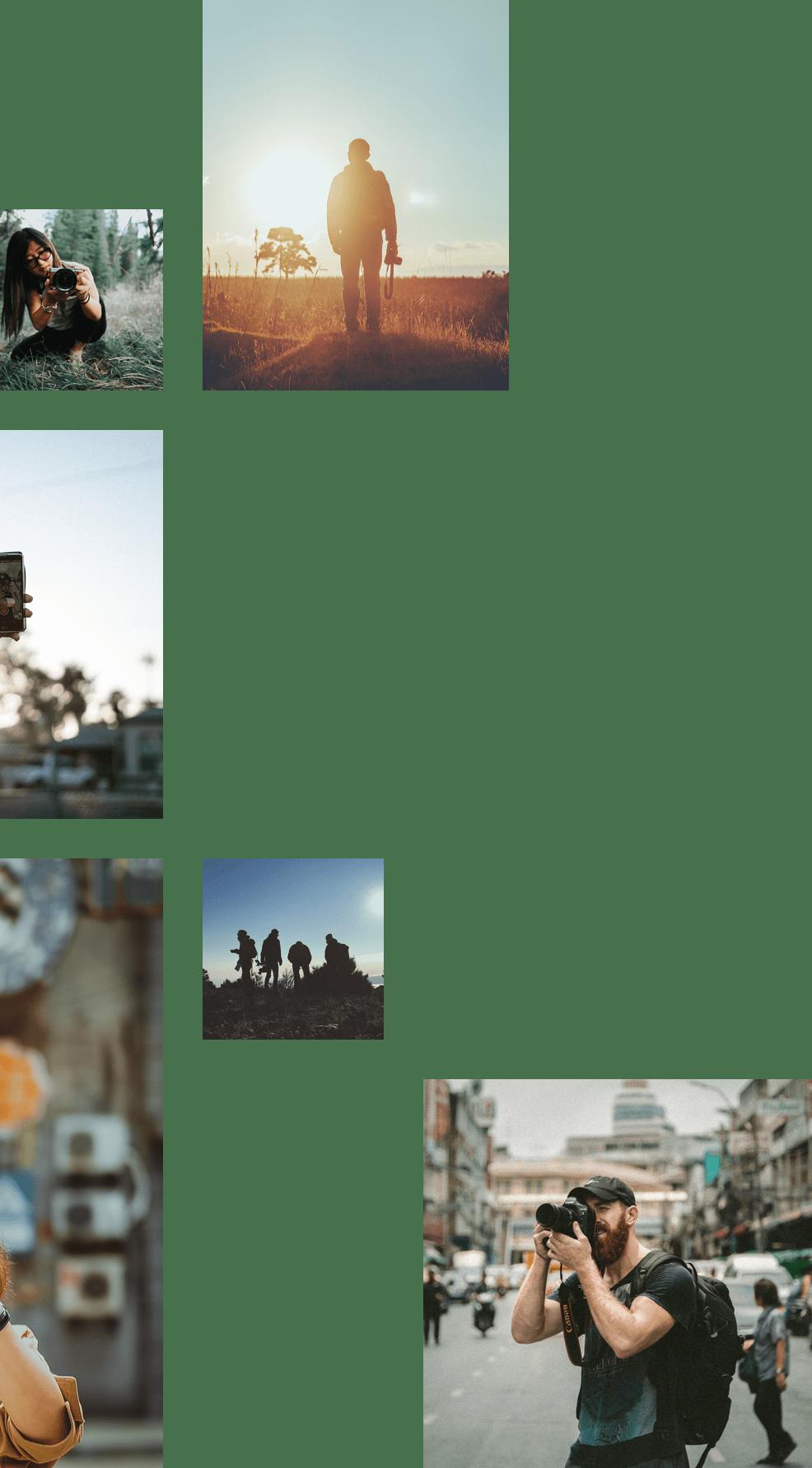 Unsplash photographers